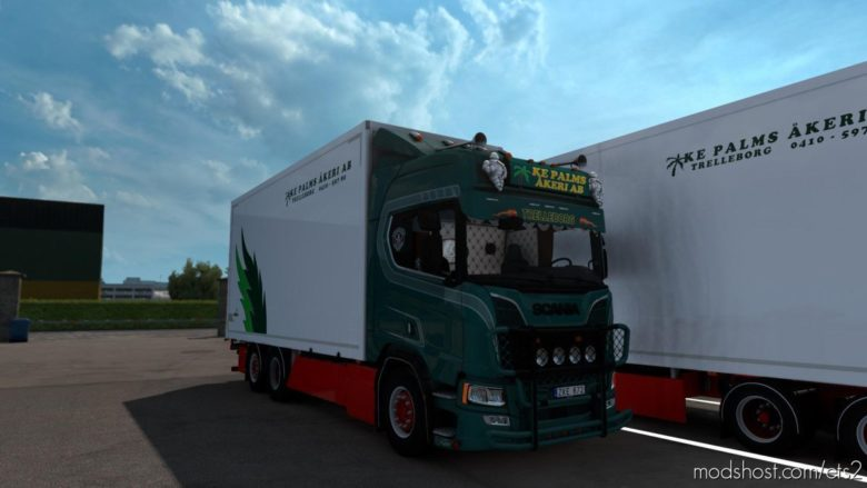 Scania Nextgen KE Palms Akeri AB [1.38] for Euro Truck Simulator 2