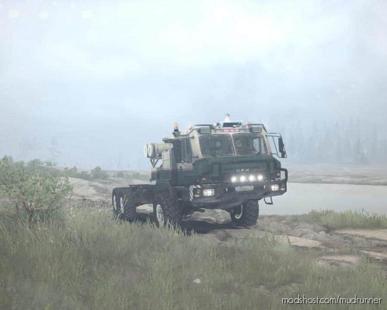 DAN 96320 (BAZ-69092) Truck V1.04 for MudRunner