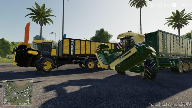 Krone Pack for Farming Simulator 19