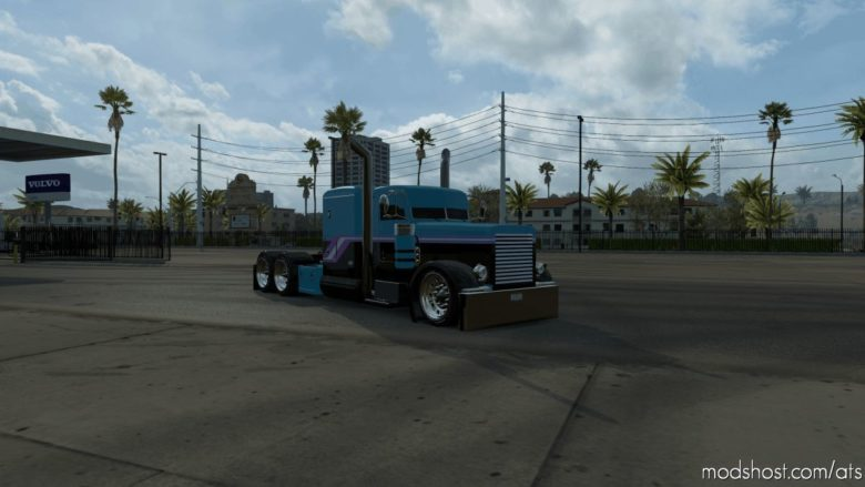 Haterbilt Viper 389 V2 Edit Truck V1.5 for American Truck Simulator