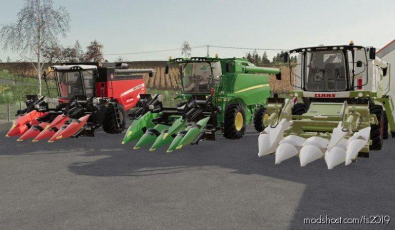 Cornheaders Pack 6 ROW for Farming Simulator 19