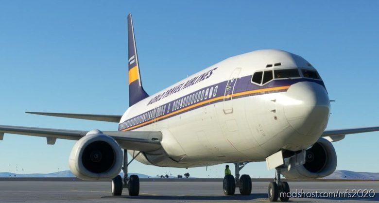FSX Converted 737-800 // WIP for Microsoft Flight Simulator 2020