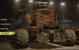 Public Test Server Only Train Truck And Trailer for SnowRunner