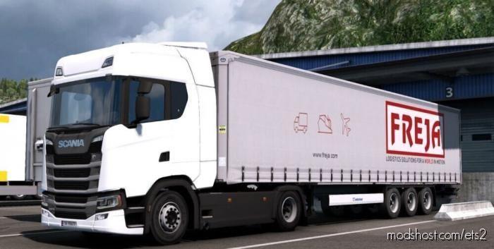 Freja Combo Skin Pack for Euro Truck Simulator 2