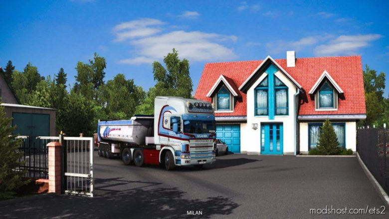 Ownable Home In Grudziadz (Poland) [1.39] for Euro Truck Simulator 2