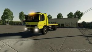 Mercedes Benz Atego Polska Laweta V2.0 for Farming Simulator 19