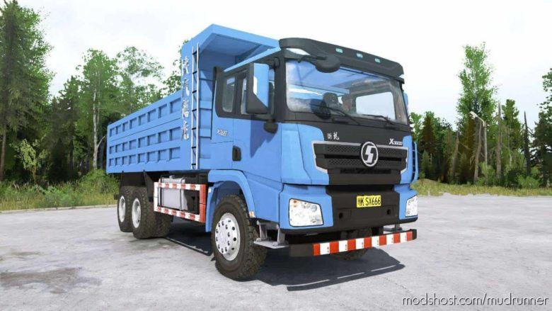 Shacman X3000 6×6 Truck for MudRunner