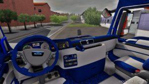 MAN TGX Euro 6 Custom Interior [1.39] for Euro Truck Simulator 2