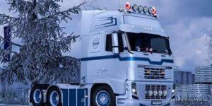 Changeable Metallic Stripe For Volvo FH 2009 for Euro Truck Simulator 2
