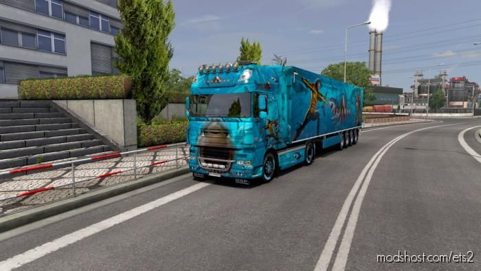Combo Skin Aquaman for Euro Truck Simulator 2