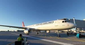 A321 Turkish Airlines [8K/4K] for Microsoft Flight Simulator 2020