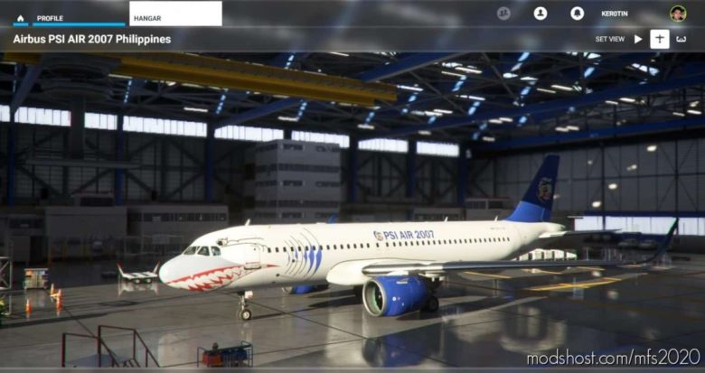 PSI AIR 2007 Philippines for Microsoft Flight Simulator 2020
