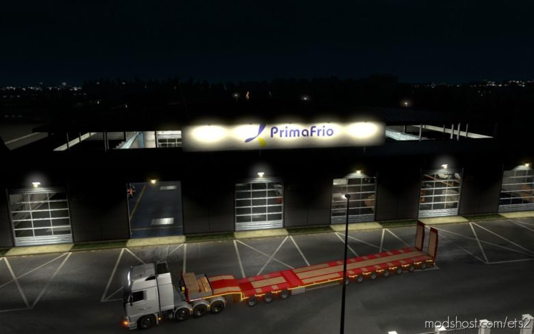 Garage Primafrio [1.39] for Euro Truck Simulator 2