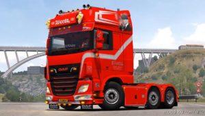 DAF XF106 480 Weeda Transport [1.39] for Euro Truck Simulator 2