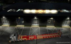 Garage TNT White [1.39] for Euro Truck Simulator 2