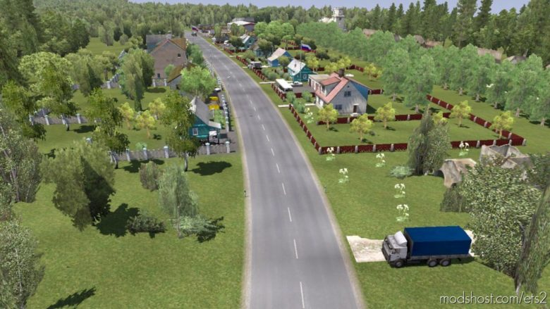 Project Caucasus for Euro Truck Simulator 2