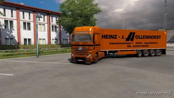 Hollenhorst Spedition Combo Skin for Euro Truck Simulator 2