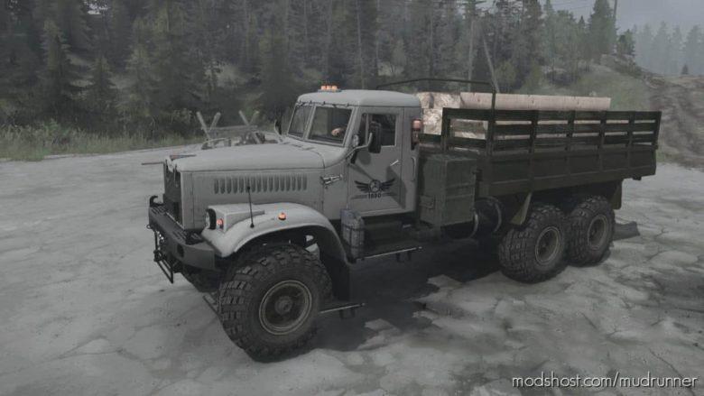 Kraz-255B Truck V26.12.20 for MudRunner