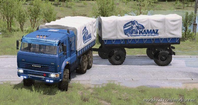 """Kamaz """"Batyr"""" Truck V30.12.20 for MudRunner"""