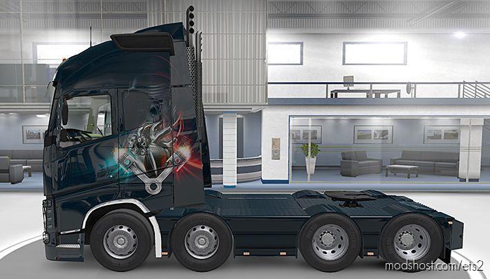 "Volvo Paintjob ""Heart"" for Euro Truck Simulator 2"