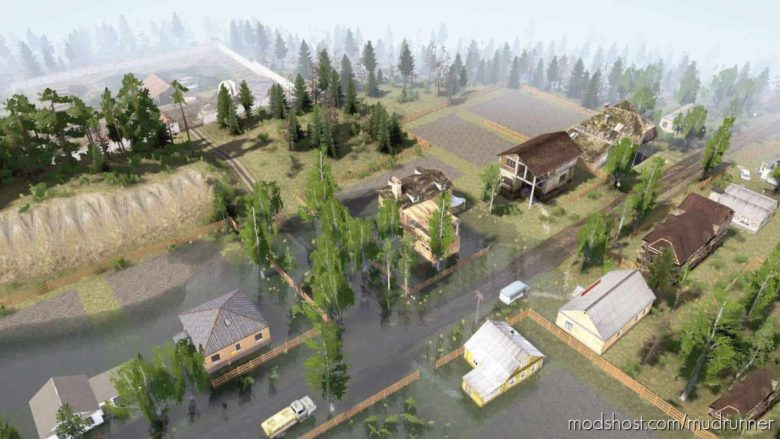 Beyond The Villages Map for MudRunner