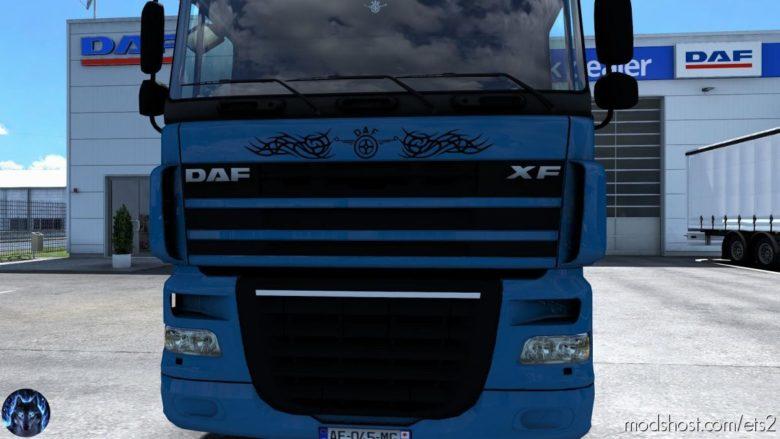 DAF XF 105 Reworked V2.9 for Euro Truck Simulator 2
