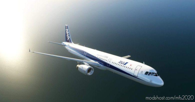 A321 ALL Nippon Airways [8K/4K] for Microsoft Flight Simulator 2020