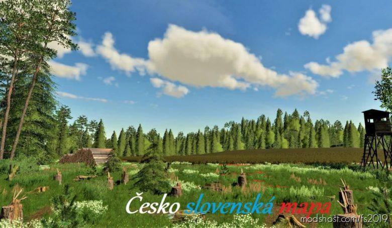 Ceskoslovenska Map for Farming Simulator 19
