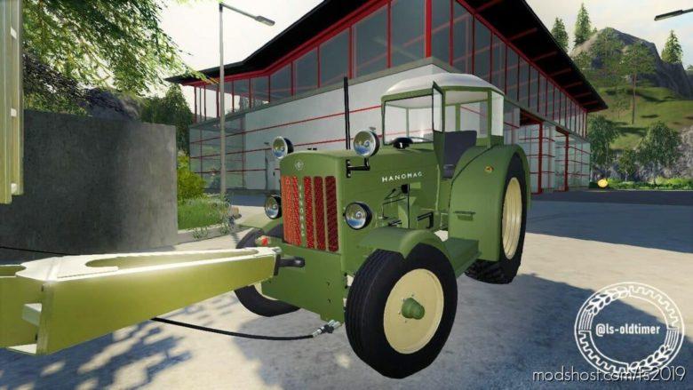 Hanomag R4X Made By Ls_Oldtimer for Farming Simulator 19