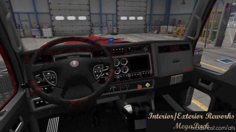Interior / Exterior Reworks Megapack V1.9 for American Truck Simulator