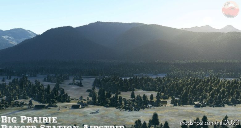 Usfs BIG Prairie Ranger Station Airfield, MT, USA for Microsoft Flight Simulator 2020