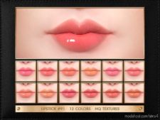 JUL Haos [Cosmetics] Lipstick #91 for The Sims 4