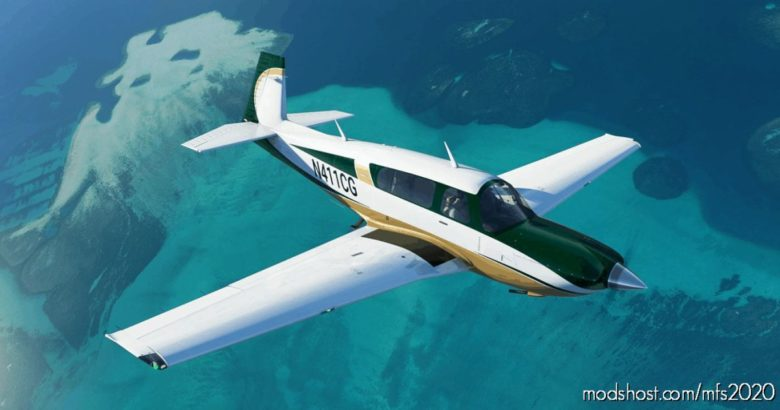 Green And Gold Livery For Carenado Mooney for Microsoft Flight Simulator 2020