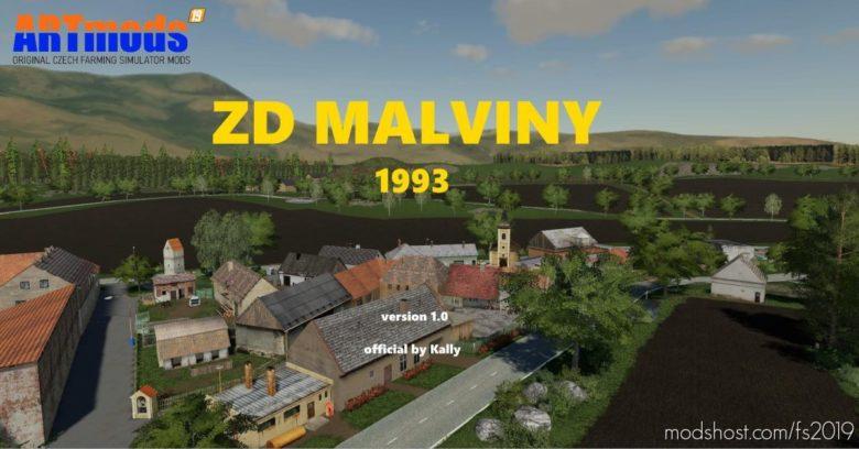 ZD Malviny 1993 for Farming Simulator 19
