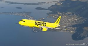 "Spirit Airlines A321 (Yellow ""Bare Fare"") for Microsoft Flight Simulator 2020"