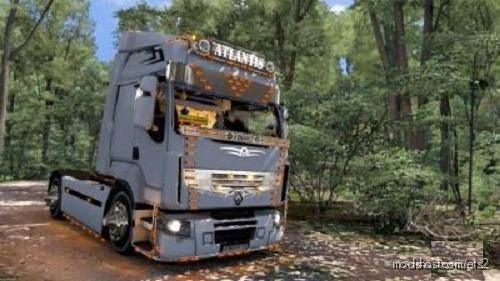 Renault Premium Atlantis V2 for Euro Truck Simulator 2