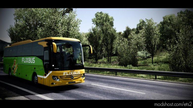 Mercedes-Benz NEW Tourismo 16RHD 2018 [1.39] for Euro Truck Simulator 2