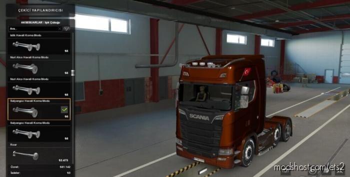 AIR Horns Mod Pack V3.0 For ALL Trucks for Euro Truck Simulator 2