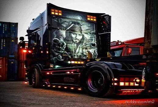 The Pirates Of Greece (Skin+Lightbox) for Euro Truck Simulator 2