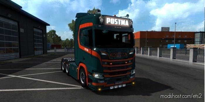 Postma Transport Paint JOB for Euro Truck Simulator 2