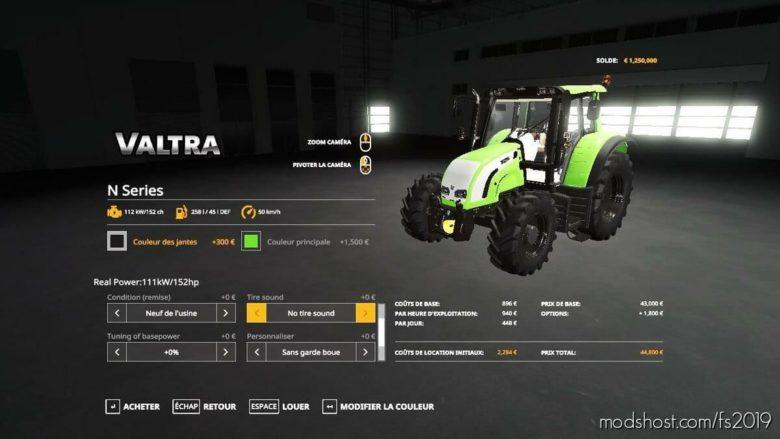 OLD Valtra N for Farming Simulator 19