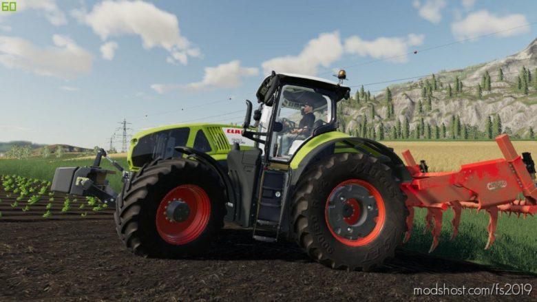 Subsoiler Maschio Attila Hydro for Farming Simulator 19