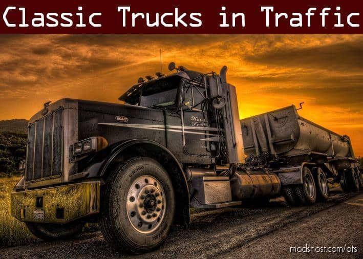 Classic Truck Traffic Pack By Trafficmaniac V1.8 for American Truck Simulator