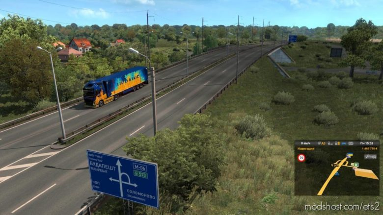 Western Ukraine Reworked V0.2 [1.39] for Euro Truck Simulator 2