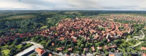 Rothenburg OB DER Tauber, Germany for Microsoft Flight Simulator 2020