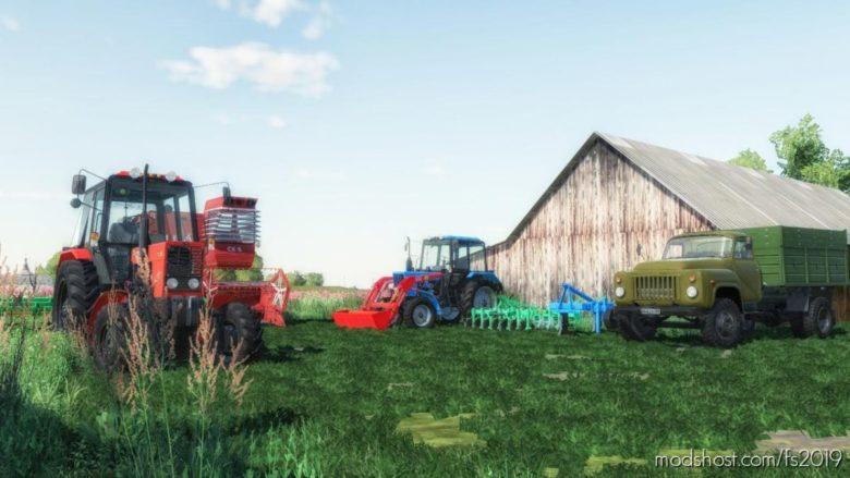 Novgorodovka Map for Farming Simulator 19