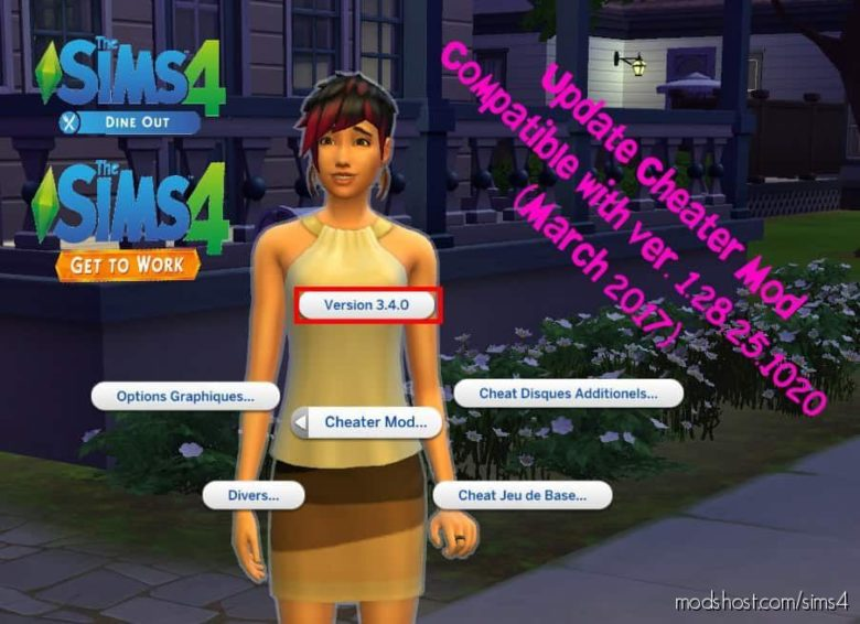 Cheater Mod 02 for The Sims 4