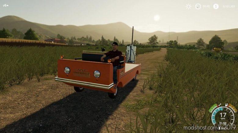 OK Utilitizer – Utility Vehicle for Farming Simulator 19
