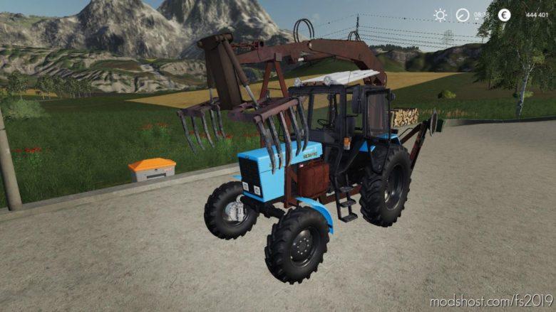 MTZ 82 PE 1F Forklift for Farming Simulator 19
