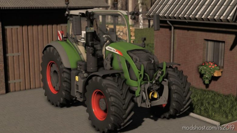 Fendt Vario 700 S4 for Farming Simulator 19
